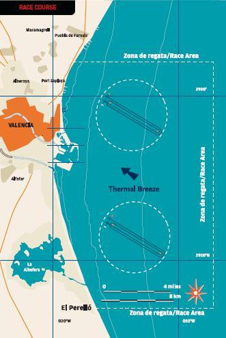 campo di regata valencia 2007